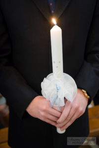 świeca do chrztu