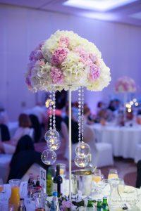 dekoracje ślubne w DoubleTree by Hilton