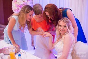panna młoda na weselu w warszawie