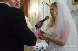przysięga małżeńska w bazylice w warszawie