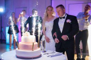tort ślubny DoubleTree by Hilton