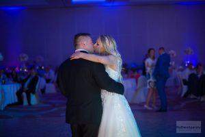 zdjęcie para młoda na weselu w warszawie
