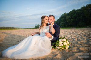 fotografia ślubna plaża