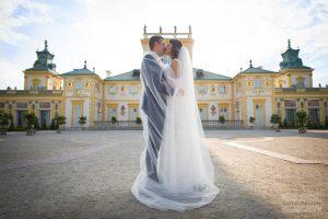 zdjęcia ślubne pałac wilanów