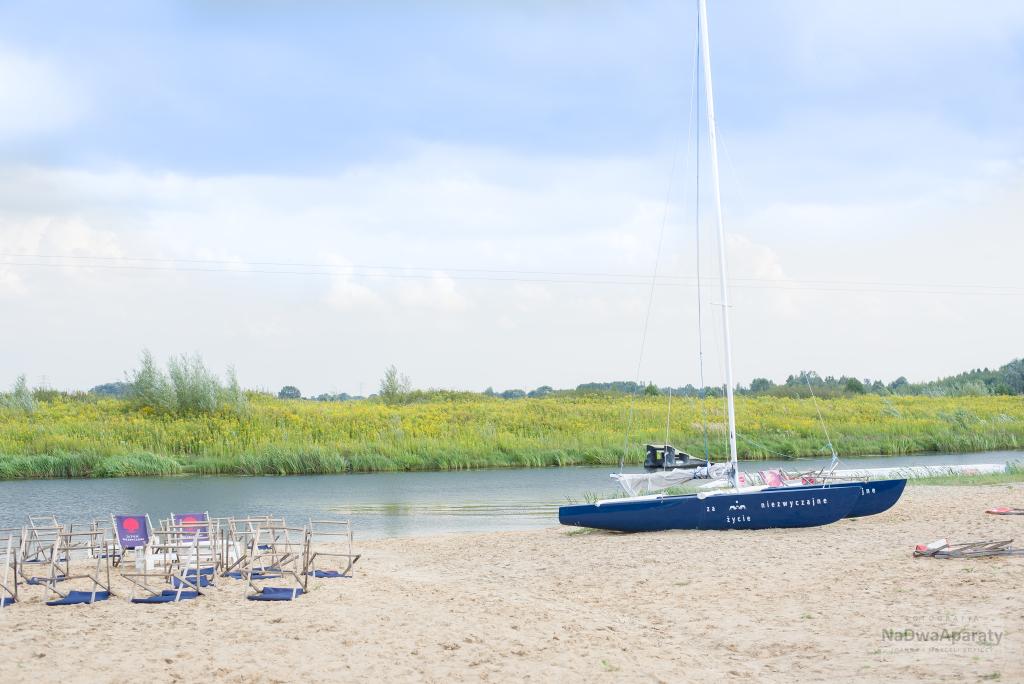 sesja zdjęciowa z łódką