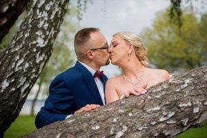 plener ślubny nad zegrzem