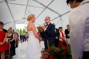 ślub plenerowy zalew zegrzyński