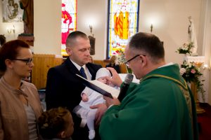 chrzest święty rudzienko