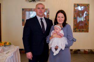 rodzice chrzestni na chrzcie