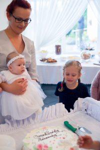 tort na chrzcie