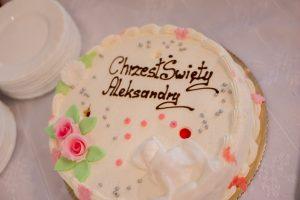tort na chrzcie kołbiel
