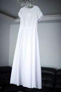 sukienka do I komunii świętej