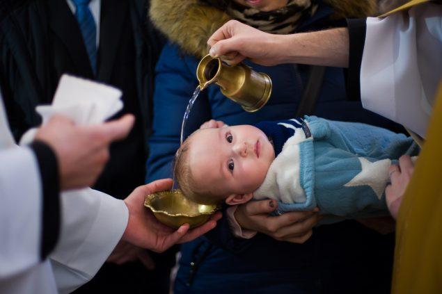 fotografia chrztu