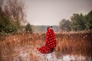 sesja dziecięca w zimie